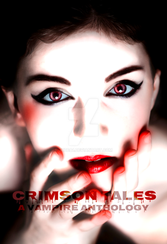 Crimson Tales Book Cover by Judea1