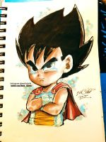 little vegeta plus video by Mark-Clark-II