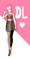 xX MMD Xx TDA Kitty Dress Base DL! by Yoko-ChanYT