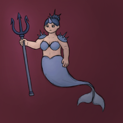 Mermay Day 3: Narwhal / Warrior by DoodleByte