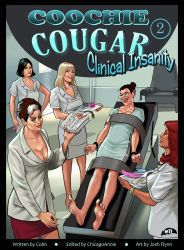 COOCHIE COUGAR #2: CLINICAL INSANITY! Cover art! by MTJpub