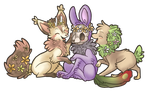 Flowers for Creature! by ThatWildMary