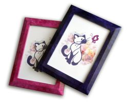 Pretty Little Siamese prints by Schlady