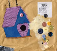 birdhouse by vickehh