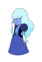 Sapphire (Three Gems and a Baby) by MrChaseComix