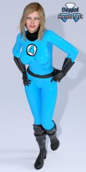 Iray - Heroines - Invisible Woman by Daniel-Remo-Art