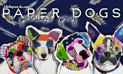 Puppies | pack .png by Fckrbepure
