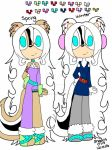 Maya The Arctic Lemming/Skunk Reference 2017 by Shadris0719