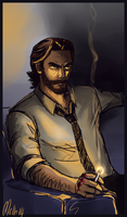 Bigby Doodle by MellorianJ