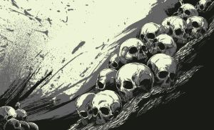 Wip Skulls by thefreshdoodle