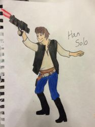 Han Solo by TheSkyTheKid2