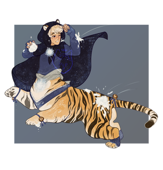 Winter Tiger Auction! (CLOSED) by PupPrince