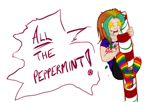 Peppermint purloiner by Absolute-Sero