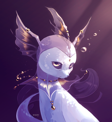 Vaporeon by VatrushkaBoli