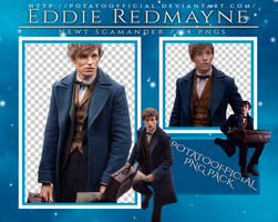 PNG Pack #1 - Eddie Redmayne (Newt Scamander) by PotatoOfficial