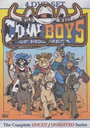 ''C.O.W.-Boys of Moo Mesa'' DVD Cover by CCB-18