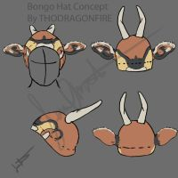 Bongo Hat Concept by Boarfeathers
