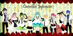 MMD PD - Camellia Japonica + Download Link by AkikoKamui97
