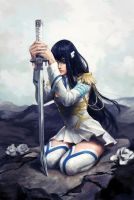 Kiryuin Satsuki - Kill la Kill fan art by liasailor