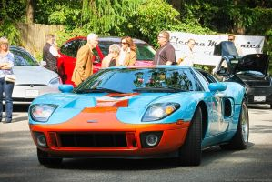 Ford GT Heritage Edition by SeanTheCarSpotter
