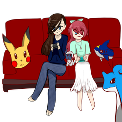 Gaming Friends by CocoTherabbit101917