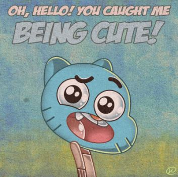Gumball being cute by Nikonah