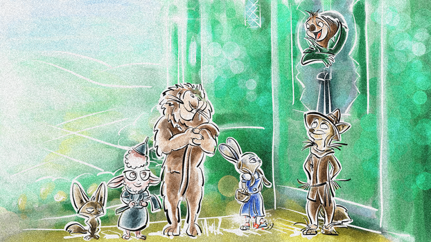 Zootopia - The fastest Wizard of Oz by Weischede