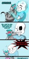 Sans's new pet (page 17) by joselyn565