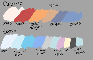 ResetSwap Color palettes. by Sheepaleepz