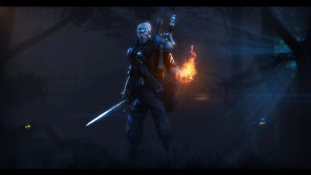 The Witcher 3: Wild Hunt TF2 version by P0nyStark