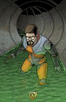 Gordon Freeman by WillSliney