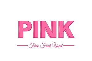 3D Pink Free PSD Text Effect by symufa