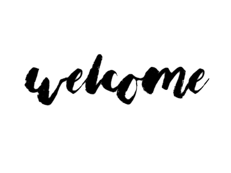 Welcome Transparent by ewSarah
