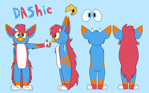 Dashie Ref by Radicalhat