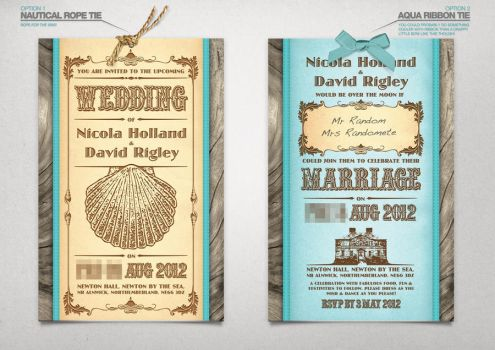 Wedding Invite by crezo