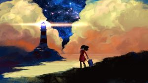 To the lighthouse by anndr