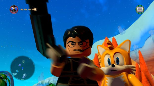 Lego Dimensions ps4 Ethan and Tails screenshot by RagingBullet