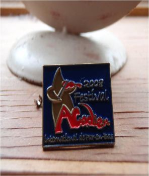 acadian festival pin by MissCreepers
