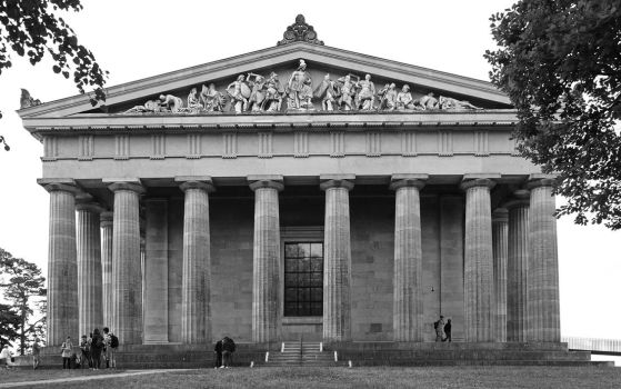 Walhalla front view by UdoChristmann