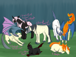 LunaxAlbany and BaibenxKeiran Litters by LadyPipen