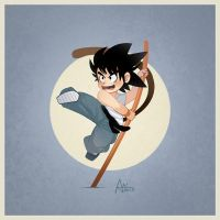 Young Goku by XnBook