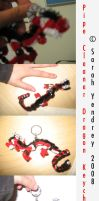 PipeDragon Keychain by BloodBass