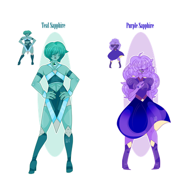 Aesthetic Sapphires by Mareu-Chan