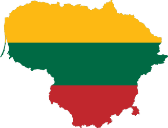 SVG map of Lithuania by NePosas