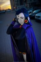 Teen Titans- Raven by LisVanPiece
