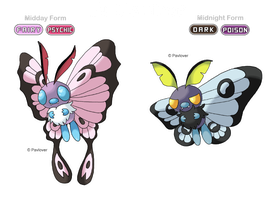 Alola form : Butterfree by Pavlover
