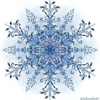 Flower of Blue Lace by CatSpaceDesign