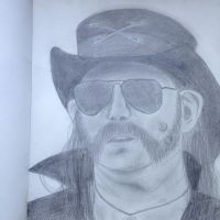 Lemmy Drawing by NenaWholock11B