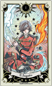 Tarot card 1- the magician by rann-poisoncage