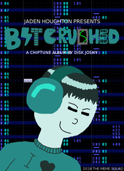 Bitcrushed - Album Art by DiskJoshy